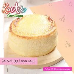 Salted Egg Lava Cake